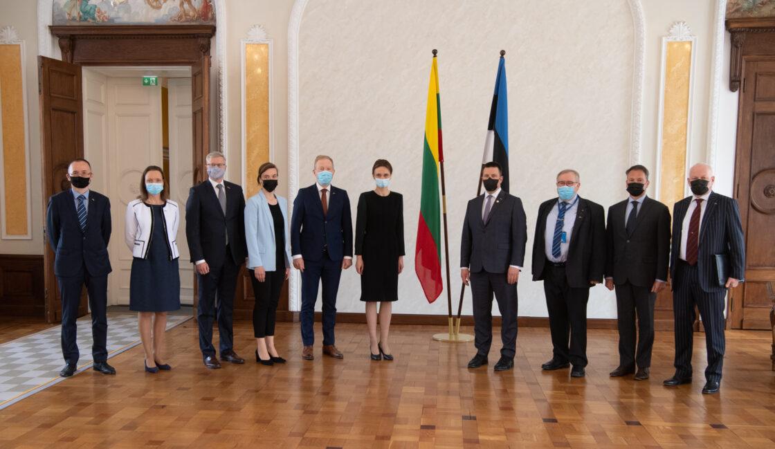 Kohtumine Leedu parlamendi esimehe Viktorija Čmilytė-Nielseniga