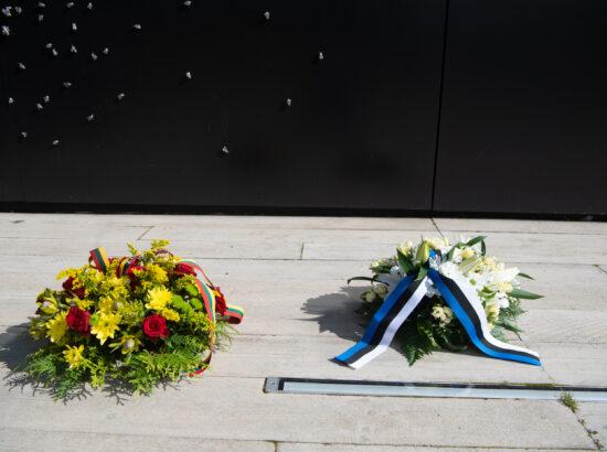 Lilled Maarjamäe memoriaalil