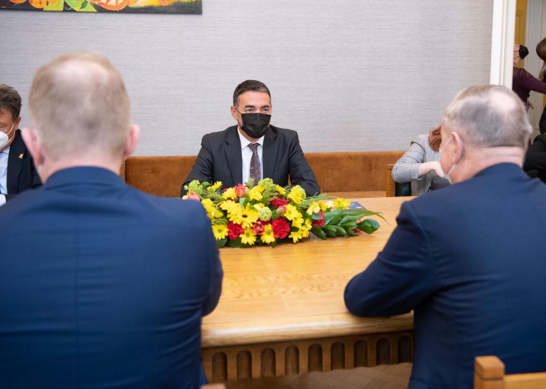 Põhja-Makedoonia Euroopa asjade asepeaminister Nikola Dimitrov