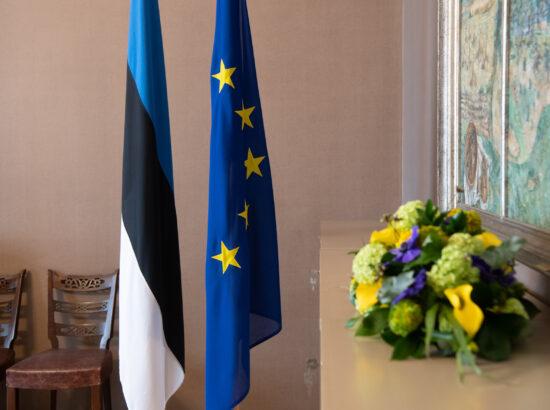 Riigikogu esimees Jüri Ratas Euroopa Liidu parlamentide esimeeste konverentsil, kahepoolsed kohtumised Sloveenia Rahvusassamblee esimehe Ivan Zorčičiga ja Poola Sejmi marssali Elżbieta Witekiga