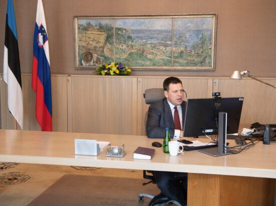Riigikogu esimees Jüri Ratas Euroopa Liidu parlamentide esimeeste konverentsil