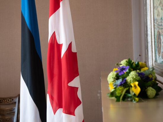 Riigikogu esimehe Jüri Ratase kohtumine Kanada parlamendi esimehe Anthony Rotaga