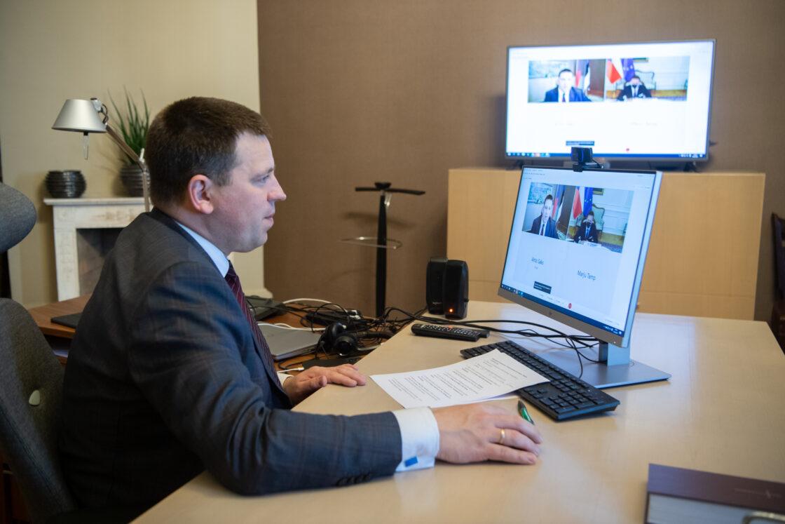 Riigikogu esimehe Jüri Ratase kohtumine Tšehhi Saadikute Koja esimehe Radek Vondráčekiga
