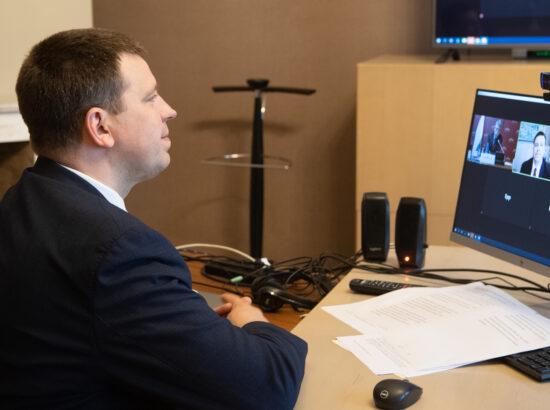 Riigikogu esimehe Jüri Ratase kohtumine Ungari parlamendi esimehe László Kövériga