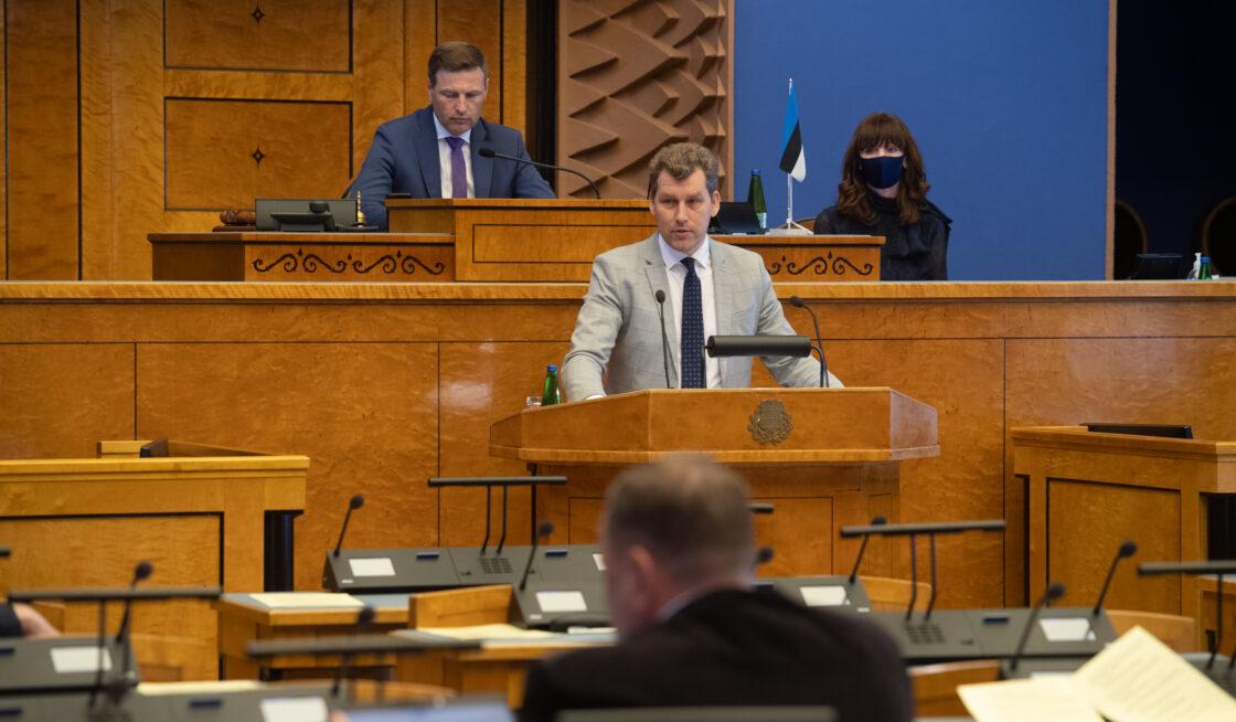 Riigikogu liige Andres Metsoja