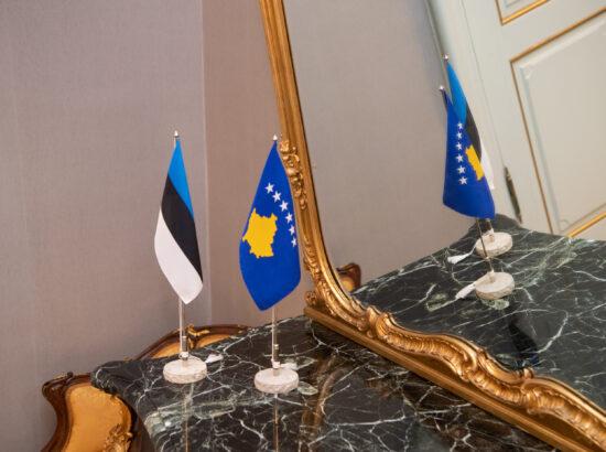 Riigikogu esimehe Jüri Ratase kohtumine Kosovo presidendi Vjosa Osmani-Sadriuga, 10. juuni 2021