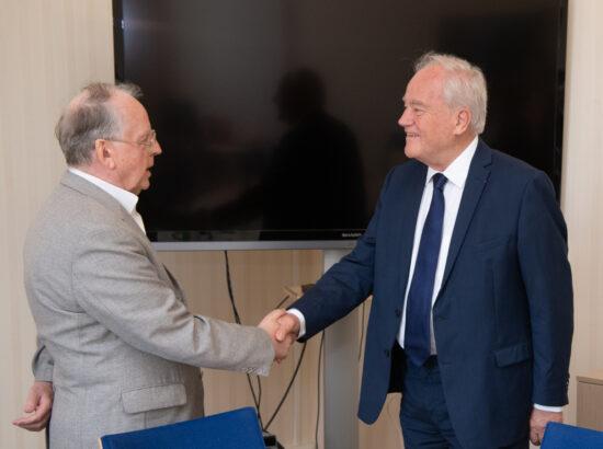 Väliskomisjoni kohtumine Prantsuse Senati välis- ja riigikaitsekomisjoni esimehe Christian Camboniga, 12. juuni 2021