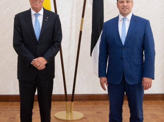 Rumeenia president Klaus Werner Iohannis ja Riigikogu esimees Jüri Ratas