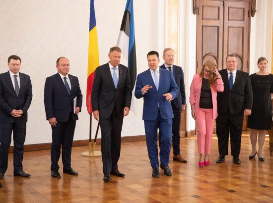 Riigikogu esimees Jüri Ratas kohtus Rumeenia presidendi Klaus Werner Iohannisega