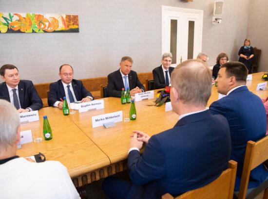 Riigikogu esimees Jüri Ratas kohtub Rumeenia presidendi Klaus Werner Iohannisega
