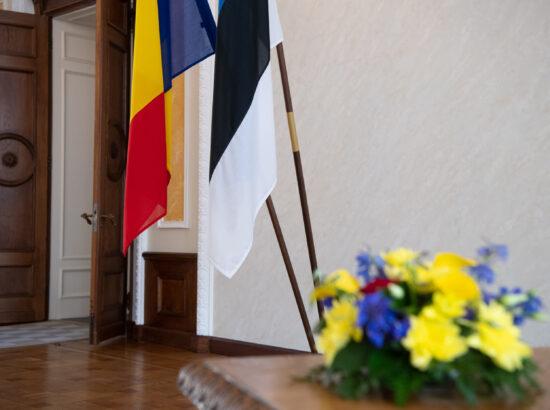 Rumeenia ja Eesti lipp