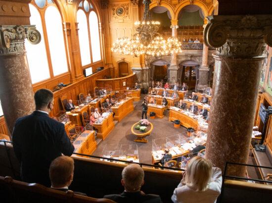 Riigikogu esimees Jüri Ratas visiidil Šveitsis