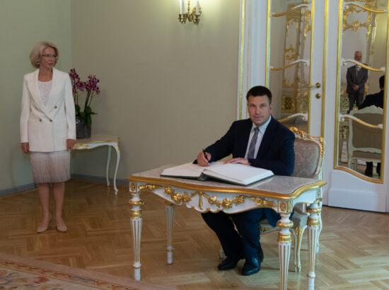 Riigikogu esimees Jüri Ratas kohtus Riias Läti ja Leedu ametikaaslastega
