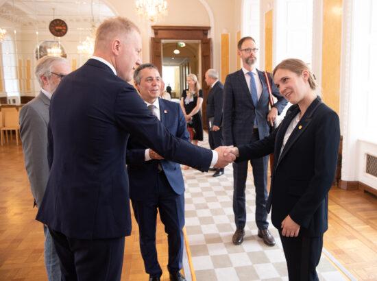 Riigikogu esimehe Jüri Ratase kohtumine Šveitsi välisminister Ignazio Cassisega