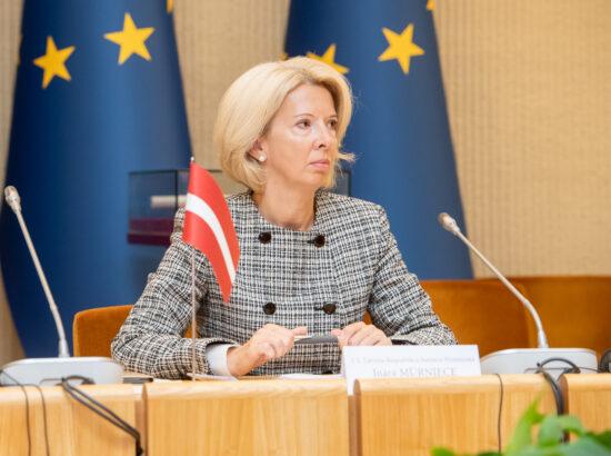 Läti parlamendi esimees Ināra Mūrniece