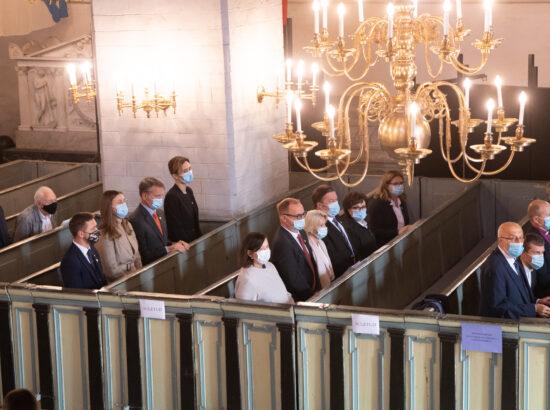 Oikumeeniline jumalateenistus Toomkirikus