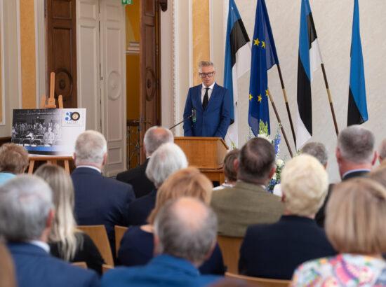 Eesti Post esitles iseseisvuse taastamise 30. aastapäevale pühendatud tervikasja. Tervikasja kunstnik Indrek Ilves.