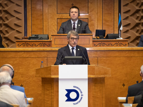 Euroopa Parlamendi president David Sassoli