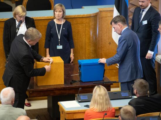 Vabariigi Presidendi valimine Riigikogus, 30. august 2021