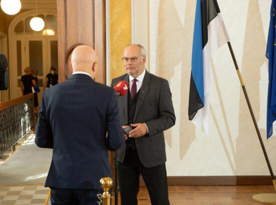 Vabariigi Presidendi valimise II hääletusvoor Riigikogus, 31. august 2021