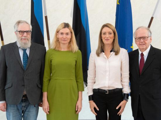 Euroopa Parlamendi esimese asepresidendi Roberta Metsola visiit