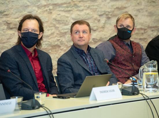 Kultuurikomisjoni, õiguskomisjoni ja väliskomisjoni ühisistung – Sidusa Eesti arengukava 2030