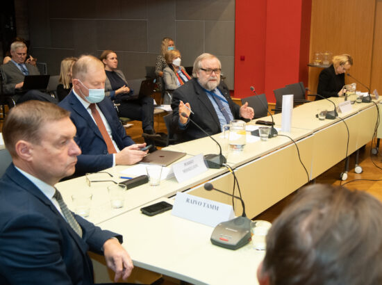 Kultuurikomisjoni, õiguskomisjoni ja väliskomisjoni ühisistung - Sidusa Eesti arengukava 2030