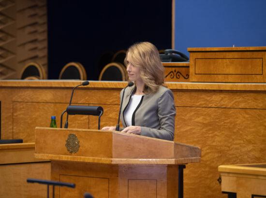 Peaminister Kaja Kallas