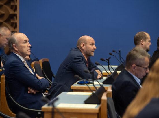 Riigikogu liikmed Aivar Kokk ja Helir-Valdor Seeder