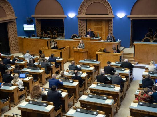 Riigikogu täiskogu