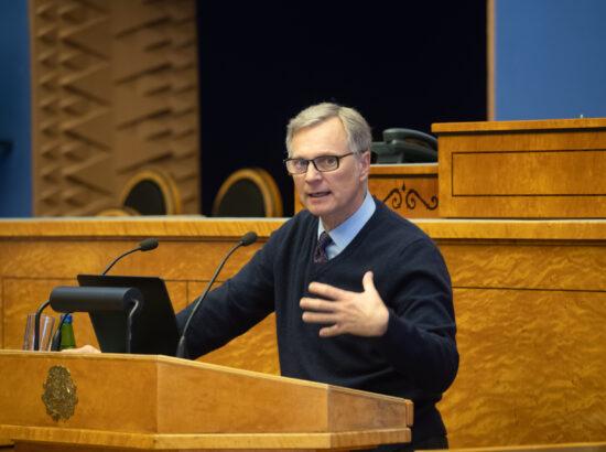 Põhja-Eesti regionaalhaigla ülemarst ja COVID-19 teadusnõukoja liige professor Peep Talving