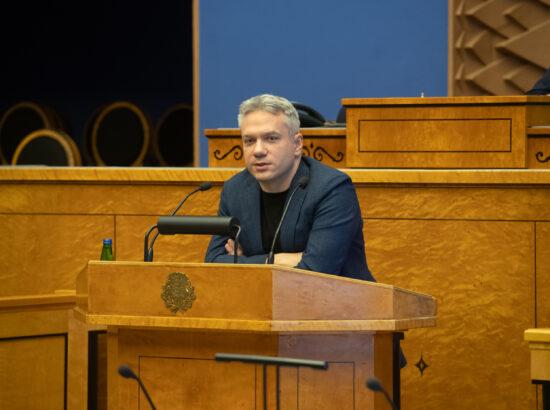 Riigikogu liige Andrei Korobeinik