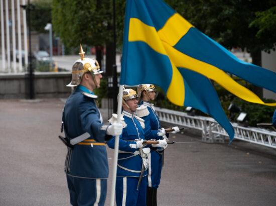 Riigikogu esimees Jüri Ratas Balti parlamentide esimeeste ametlikul visiidil Rootsis