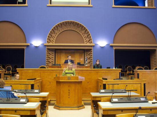 Riigikogu liige Riina Sikkut