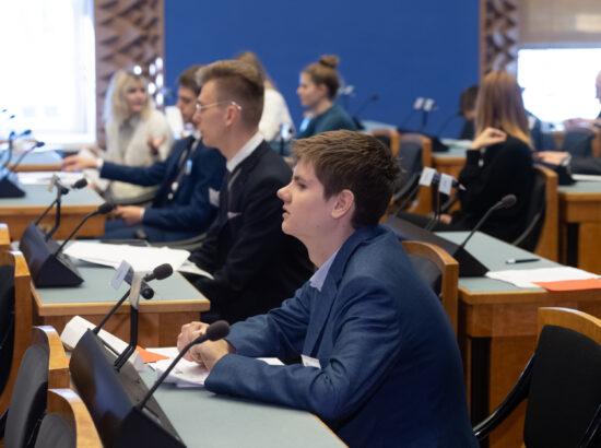 16. Eesti Mudel-Euroopa Parlamendi täiskogu
