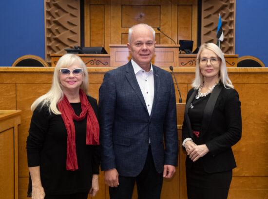 Parlamentidevahelise Liidu delegatsiooni (IPU) Eesti rühma juhatuse valimised