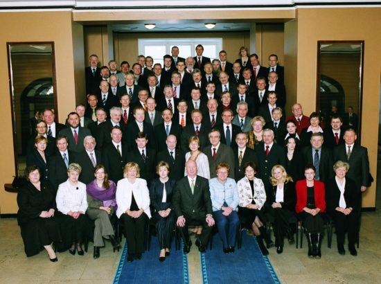 X Riigikogu, lõpupilt. 12. aprill 2007.