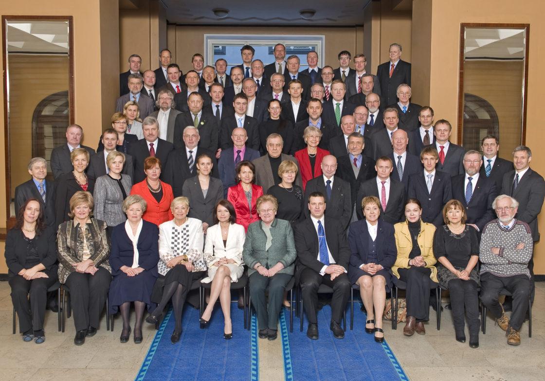 XI Riigikogu, lõpupilt. 23. veebruar 2011.