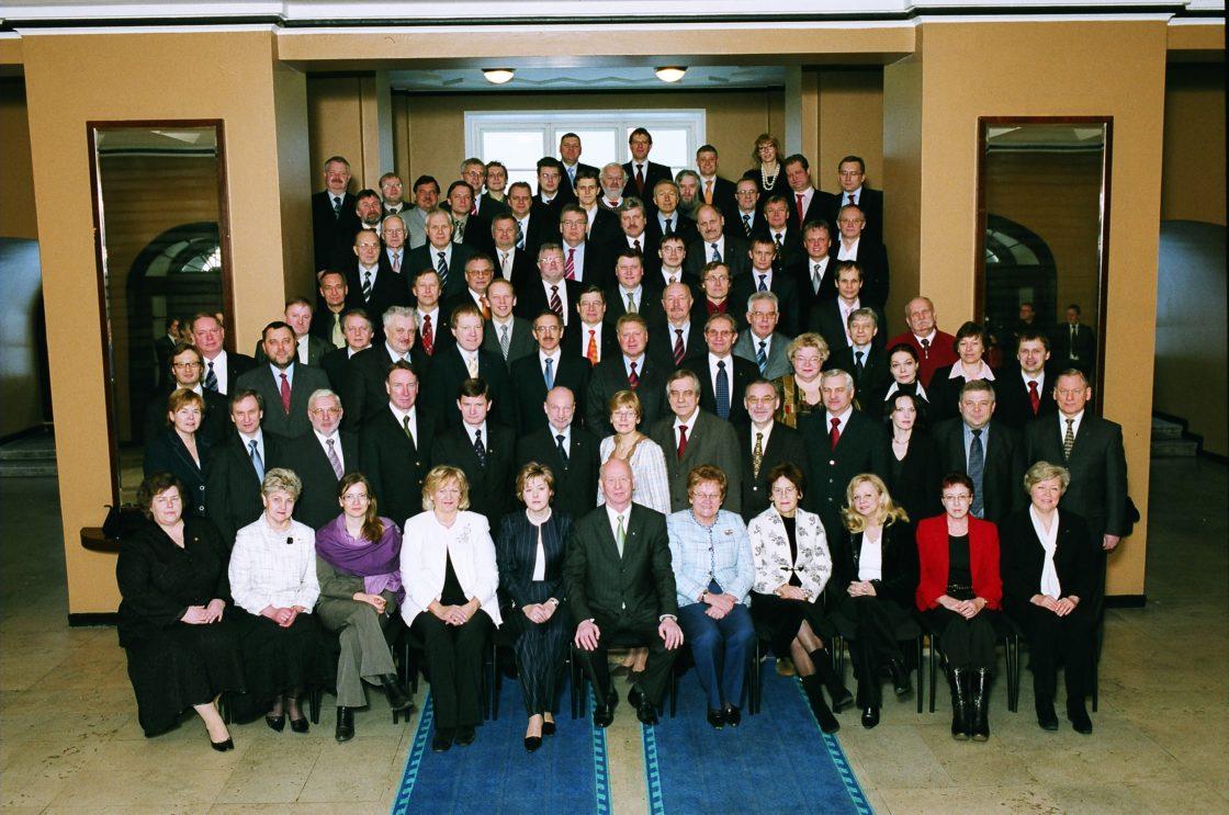 X Riigikogu, lõpupilt. 22. veebruar 2007.