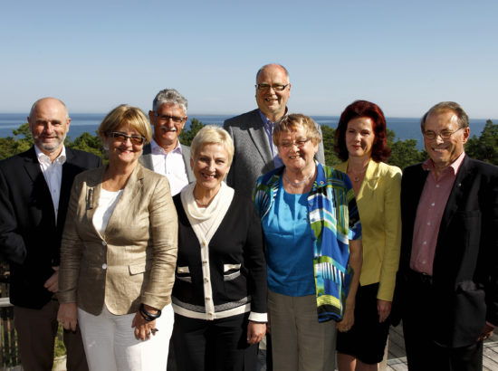Nordic and Baltic Speakers of Parliament (press picture)